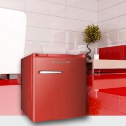 Bompani BOMP548/R Red Retro Ψυγείο Μικρό-Mini Bar